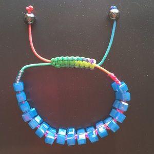 NWOT-Anthropologie glass bead bracelet